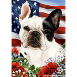 Tamara Burnett Patriotic French Bulldog Flag