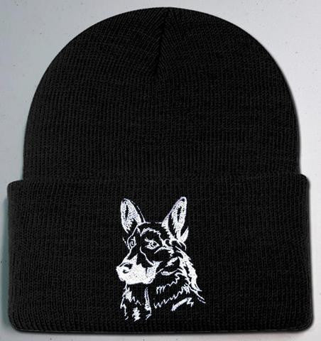 ba83f4f8a69 German Shepherd Knit Ski Hat - Provides 4 Days of Food For Shelter ...