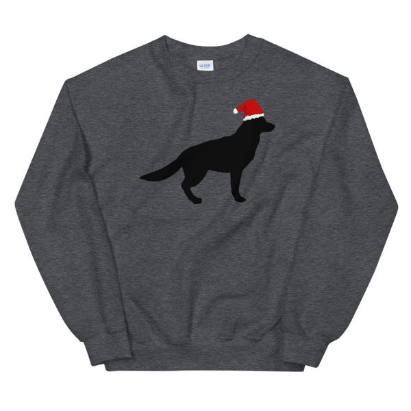 Santa German Shepherd Sweatshirt