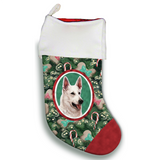 German Shepherd Christmas Stocking