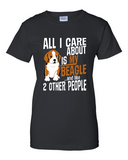 Ladies' All I Care...Beagle Tee