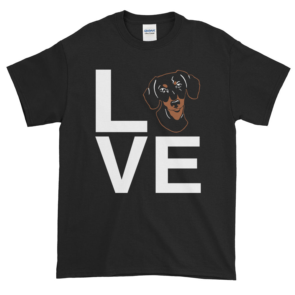 Black & Tan Dachshund Love Tee