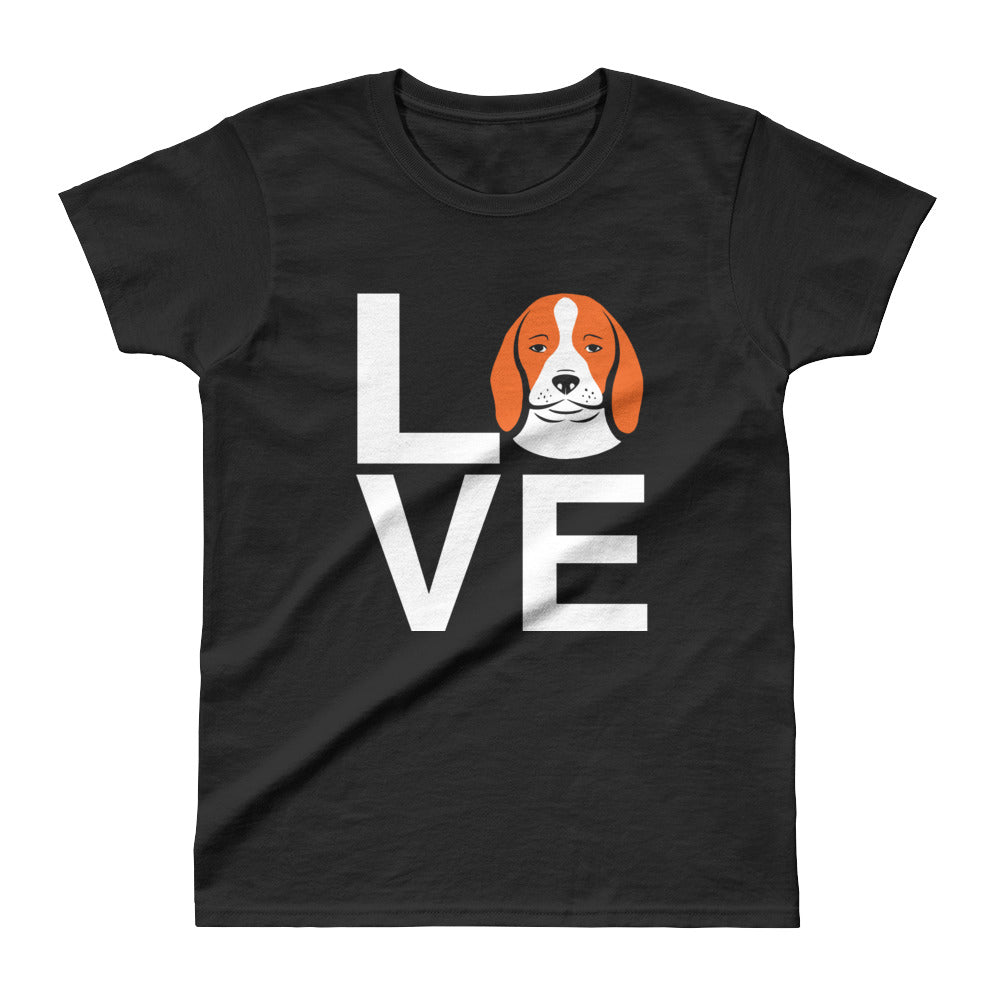 Ladies' Beagle Love Tee