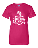 Ladies' Bulldog Thing Tee