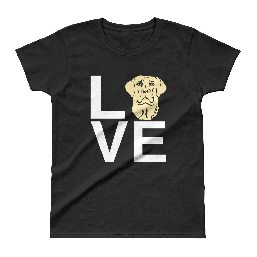 Ladies' Yellow Lab Love Tee