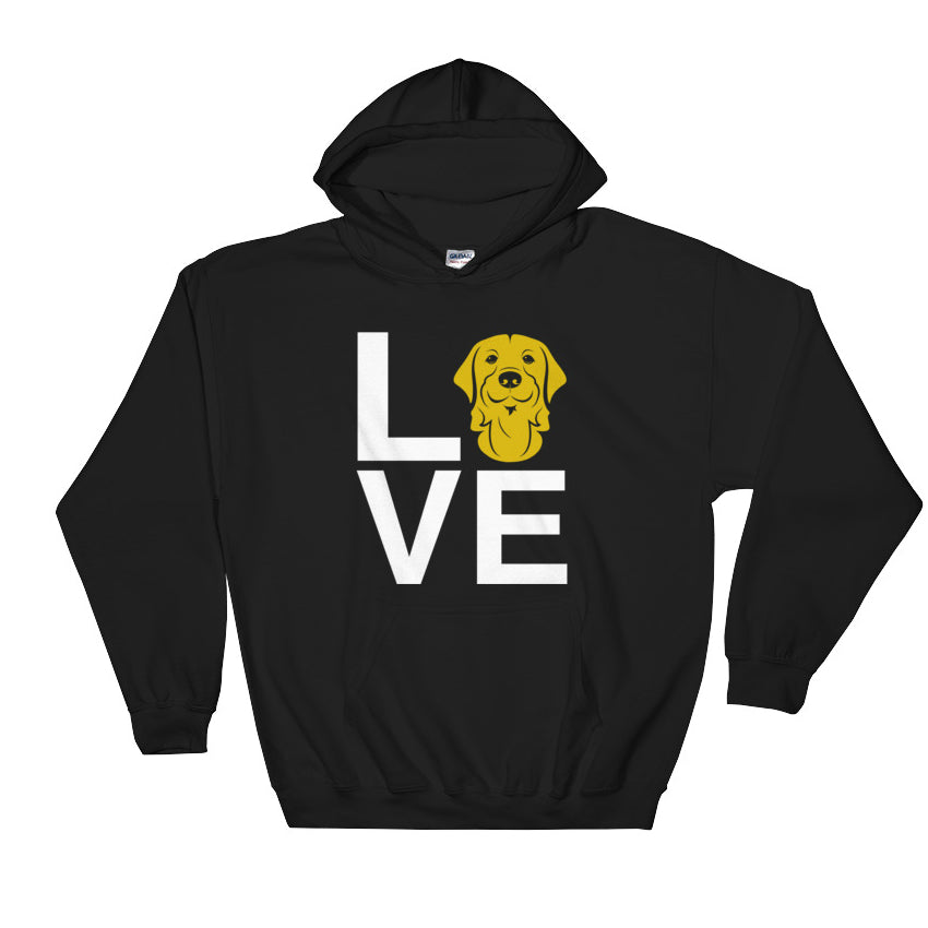 Golden Retriever Love Hoodie