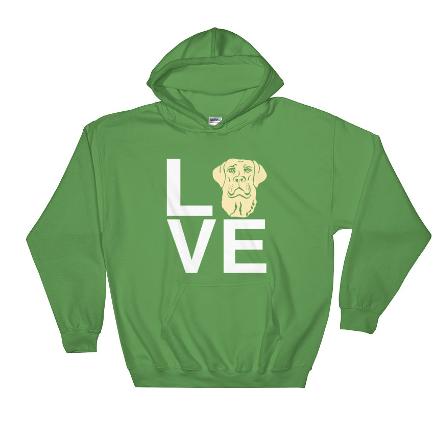 Yellow Lab Love Hoodie