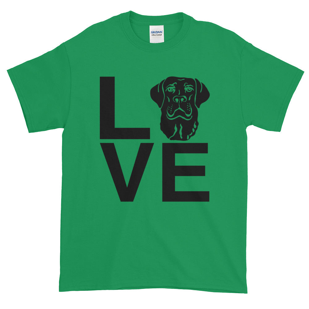 Black Lab Love Tee