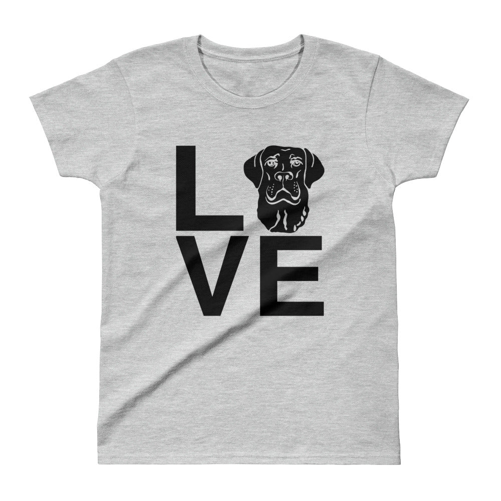 Ladies' Black Lab Love Tee