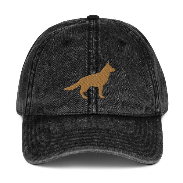 German Shepherd Silhouette Hat