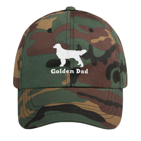 Golden Dad Hat