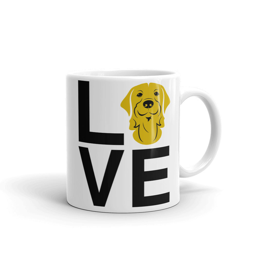 Golden Retriever Love Mug