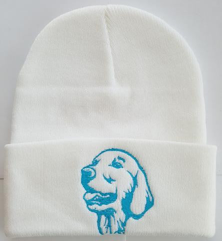 Golden Retriever Knit Ski Hat