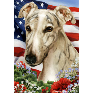 Patriotic Greyhound Flag