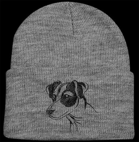 Jack Russell Knit Ski Hat