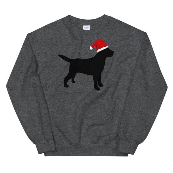 Santa Lab Sweatshirt