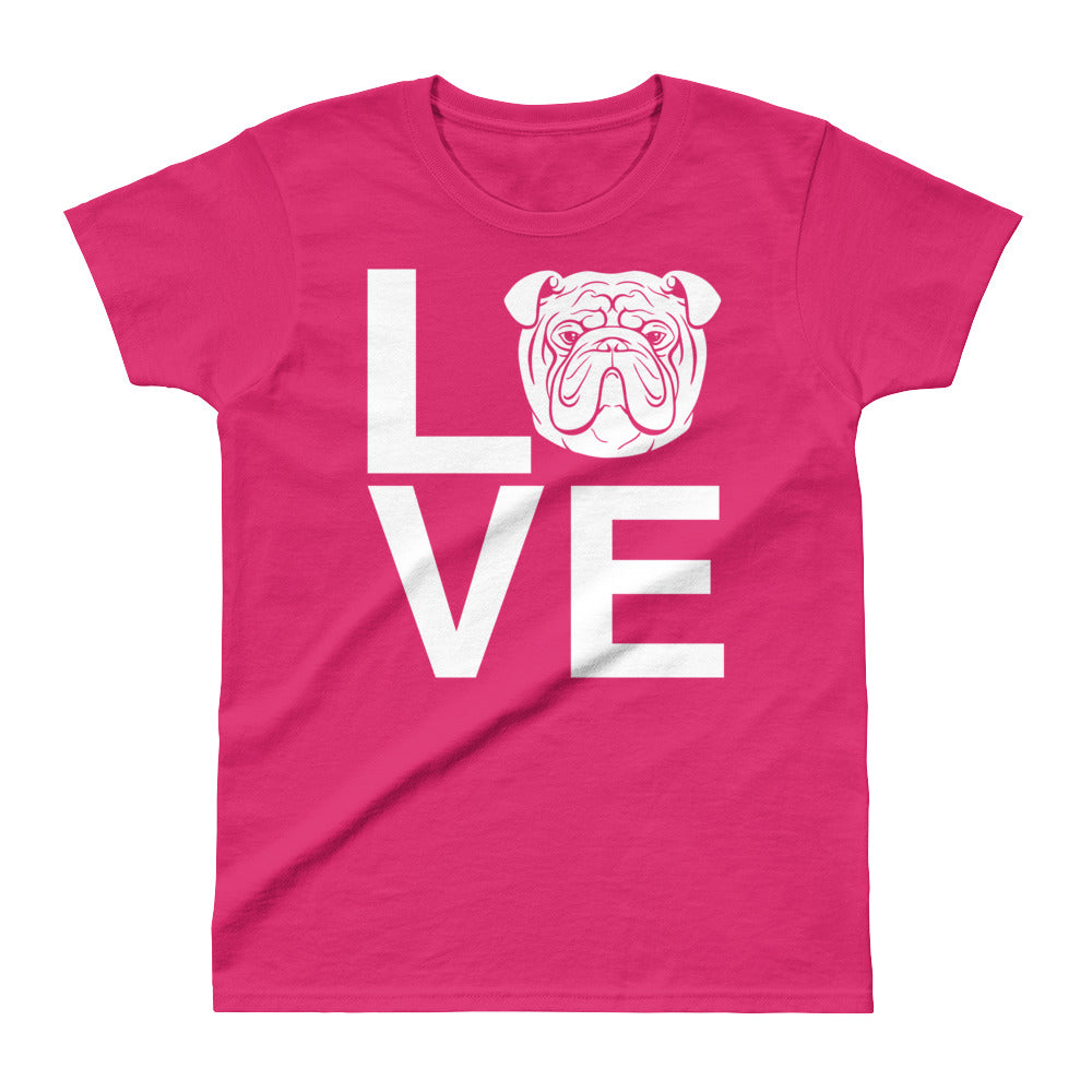 Ladies' Bulldog Love Tee