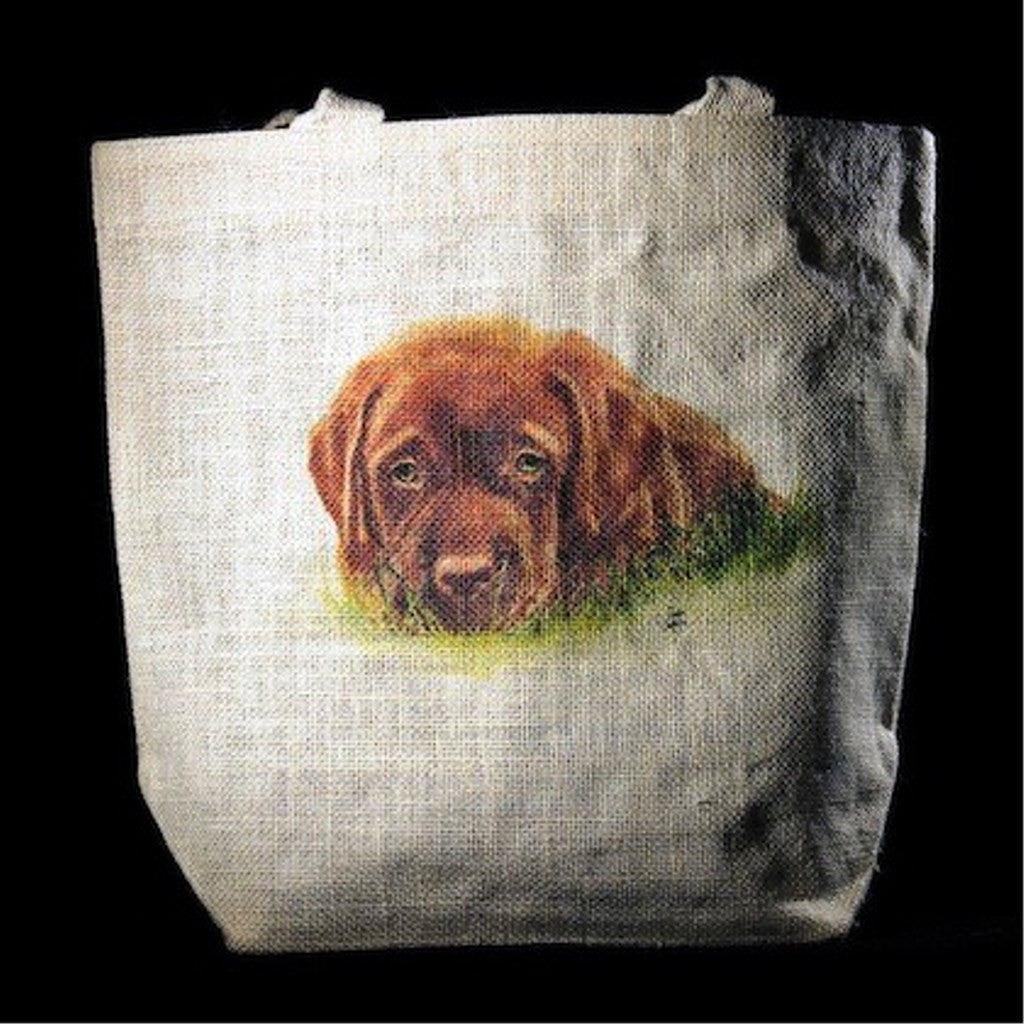 Max the Chocolate Lab Tote