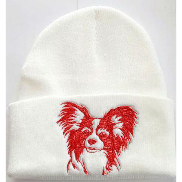 Papillon Knit Ski Hat