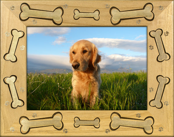 Dog Bone Picture Frame - Feeds A Shelter Dog For 5-13 DAYS! - A ...
