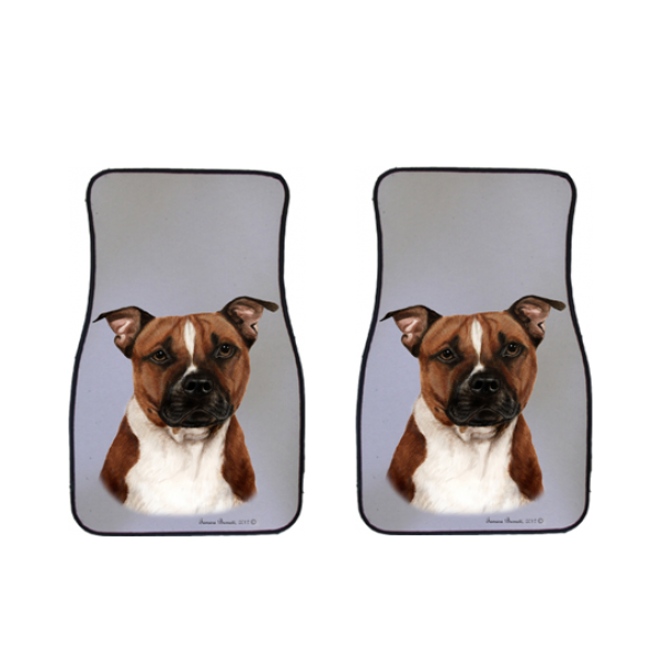Pit Bull Car Mats (Set of 2)