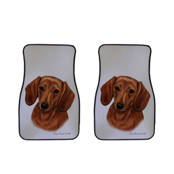 Dachshund Car Mats (Set of 2)