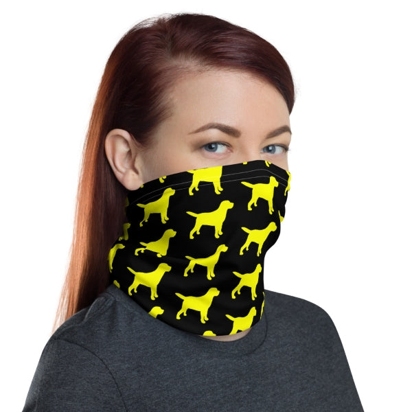 Lab Neck Gaiter Face Covering
