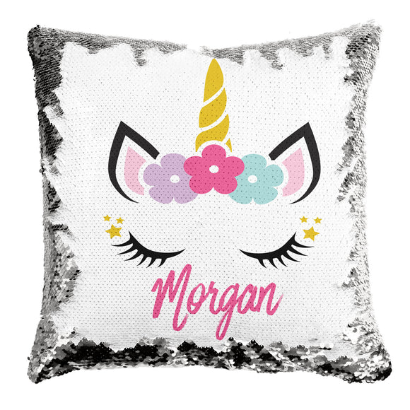 Personalized Reversible Sequin Pillows
