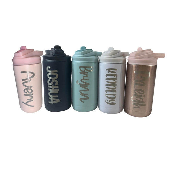 Personalized Kids 12 oz Stainless Steele Sport Water Bottle