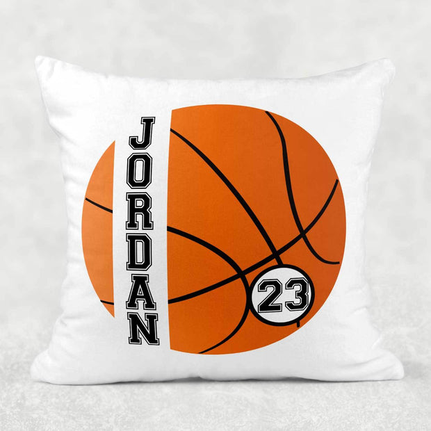 Personalized Basketball Snuggle Pillow with Number