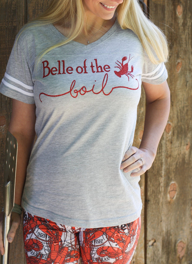 Belle of the Boil Crawfish T-Shirt