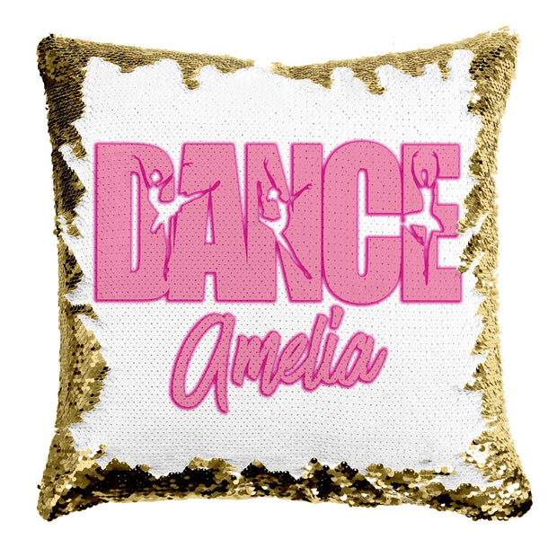 Personalized Dance Mermaid Pillow