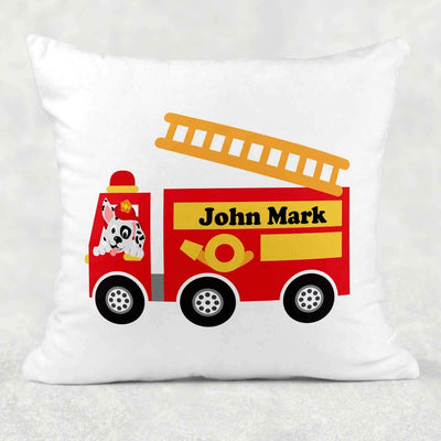 Personalized Firetruck Snuggle Pillow