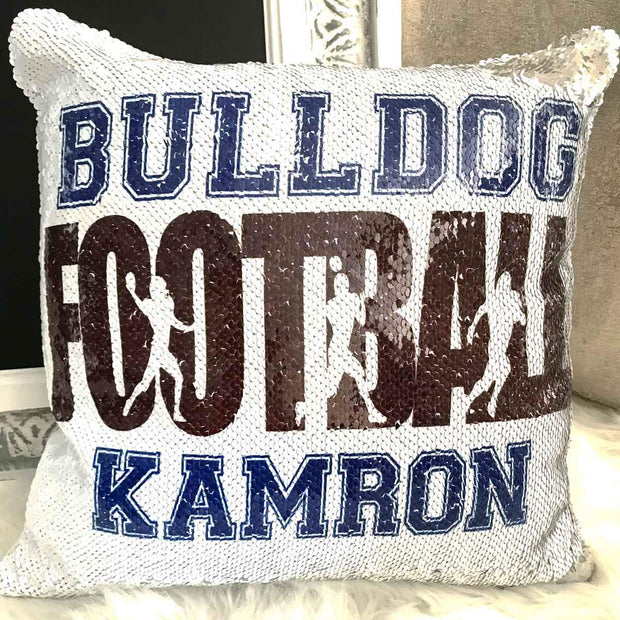 Personalized Football Pillow