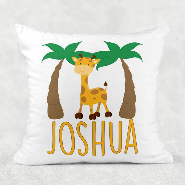 Personalized Little Zoo Animal Pillow
