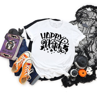 Happy Witch Halloween T-Shirt | Halloween Apparel, Halloween Clothing, Comfy Tee
