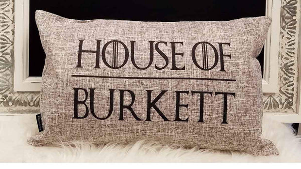 Personalized House Of Pillow with Insert