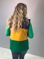 Mardi Gras Crown Vest