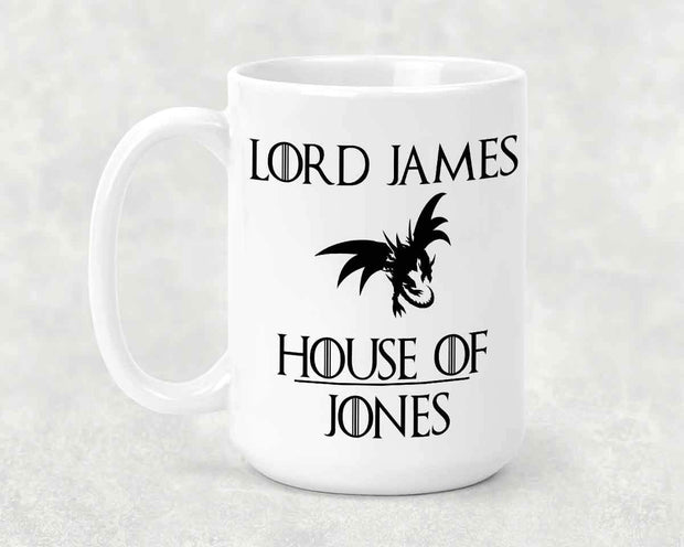 Personalized House of Mug