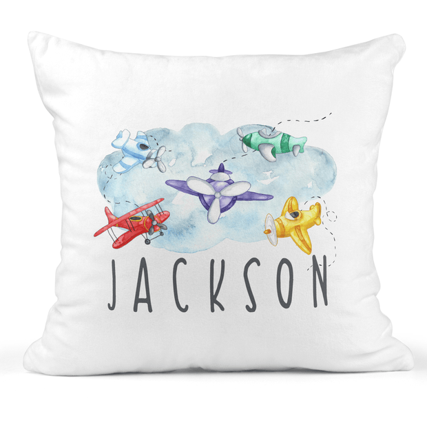 Personalized Airplane Snuggle Pillow