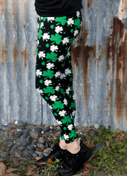 Shamrock Leggings for St. Patrick's Day