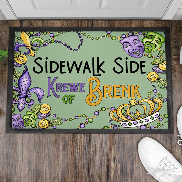 Sidewalk Side Custom Mat