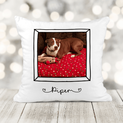 Personalized Pet Pillows