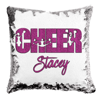 Personalized Cheer Mermaid Pillow