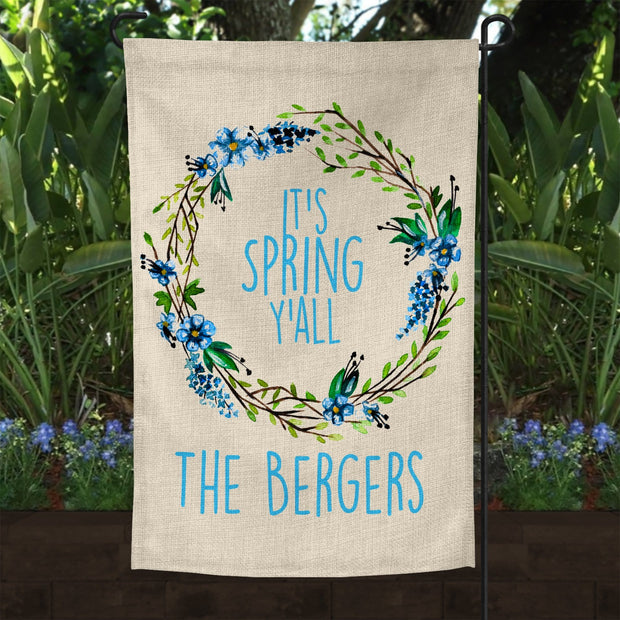Spring garden Flag It's spring Y'all