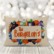 Halloween Personalized Accent Pillow | Halloween Decor, Home Decor, Halloween Home Decor, 12in x 18in