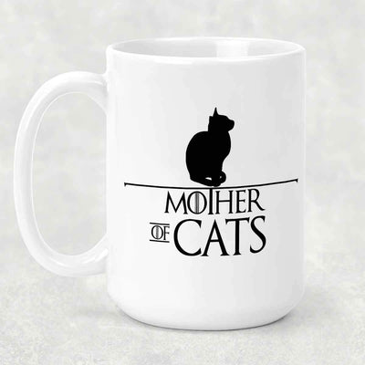 Mother of Cats 15oz Mug