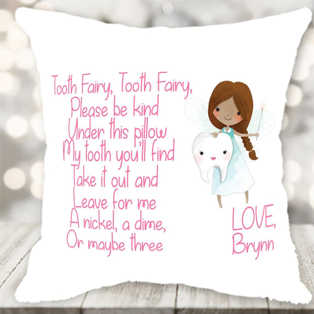 Personalized Tooth Fairy Pillow