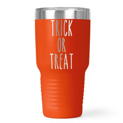 Trick Or Treat Laser Etched Tumbler | 20oz or 30oz