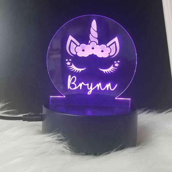 Personalized Acrylic Nightlights